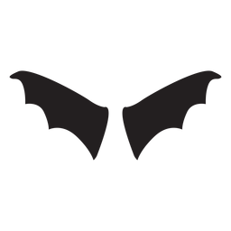 Bat wings vector