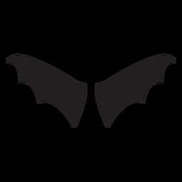 Vector de alas de murciélago