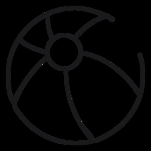 Bola de praia ícone de vôlei Transparent PNG