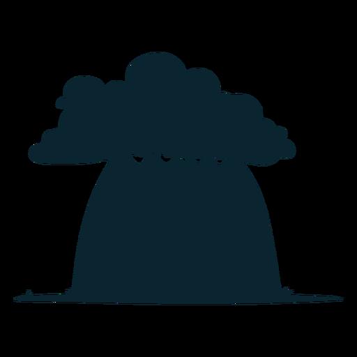 Gran árbol de safari Transparent PNG