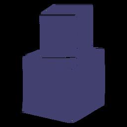 Juguete de vector de bloques