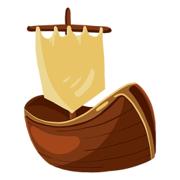 Ilustración de juguete de barco