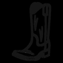 Botas de vaqueiro vintage