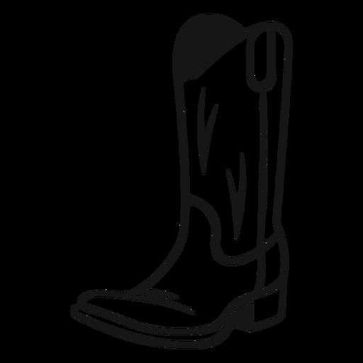 Boots cowboy vintage stroke