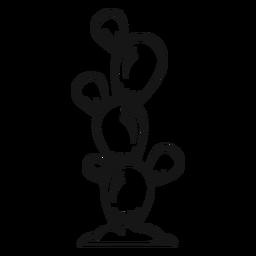 Golpe de vaquero de cactus