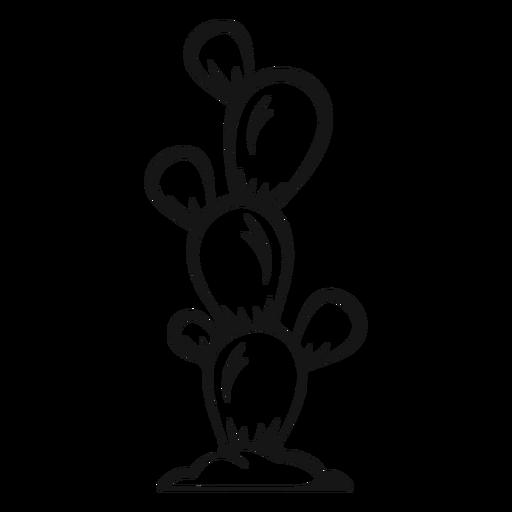 Golpe de vaquero de cactus Transparent PNG