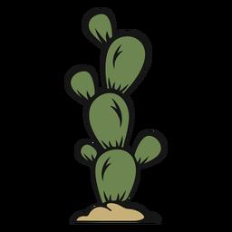 Cactus vaquero vintage