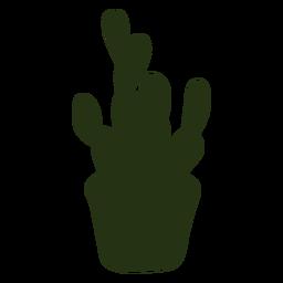 Cactus silhouette cool