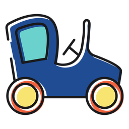 Brinquedo ícone de carro