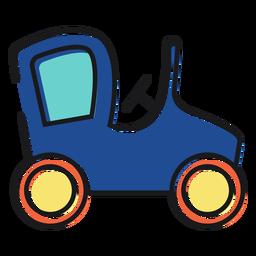 Juguete del icono del coche