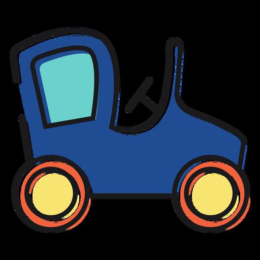 Juguete del icono del coche Transparent PNG