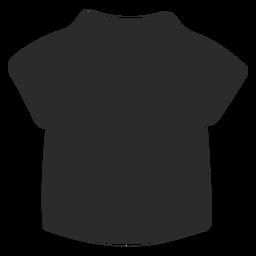Vetor de camisa infantil