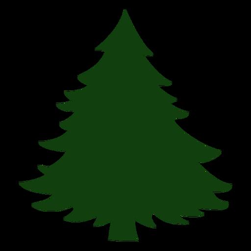 Arbol de navidad simple Transparent PNG