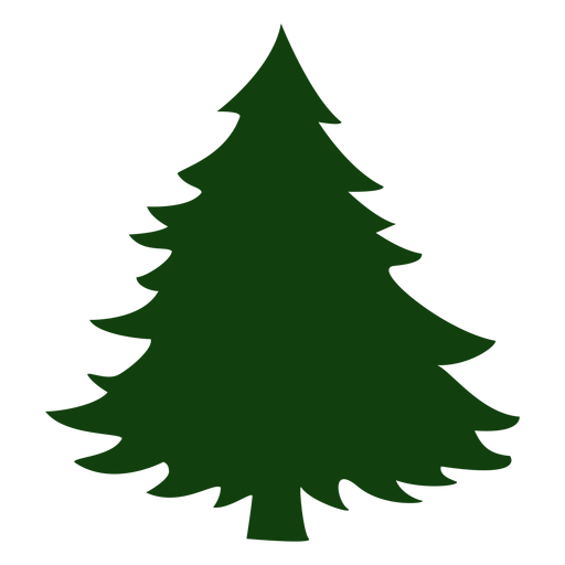 Christmas tree simple Transparent PNG