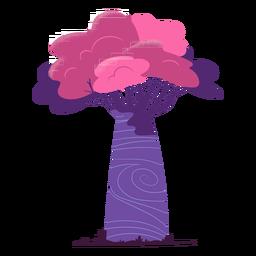 Árbol de safari colorido