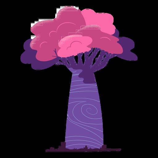 Colorful safari tree Transparent PNG