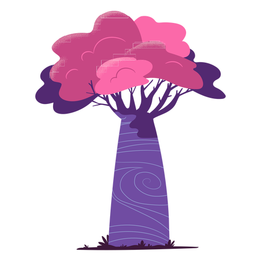 Colorful safari tree