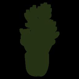 Cool silhouette cactus