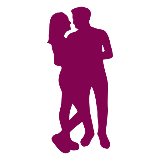 Couple looking at each other Transparent PNG