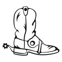 Carrera de botas vaqueras