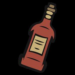 Vintage de garrafa de vaqueiro