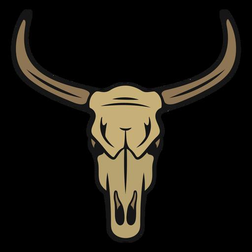 Cabeza de toro vaquero