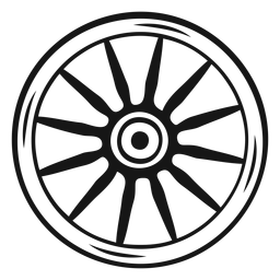 Cowboy wheel stroke