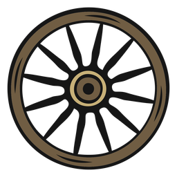 Cowboy wheel vintage