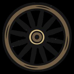 Vintage de roda de vaqueiro