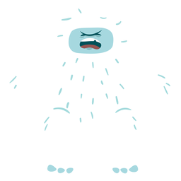 Crying shouting yeti
