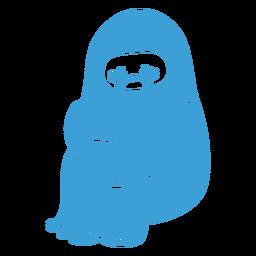 Yeti llorando lindo