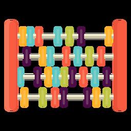 Cute abacus flat
