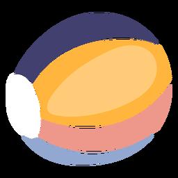 Bola de praia fofa