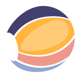 Cute beach ball