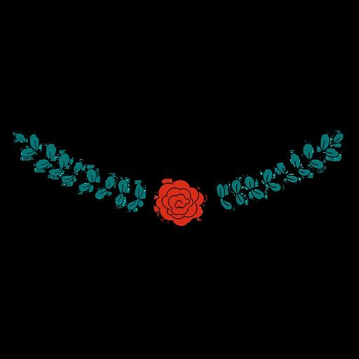 Lindo adorno floral Transparent PNG