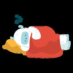 Lindo durmiendo yeti