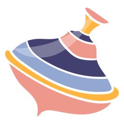 Cute spinning top