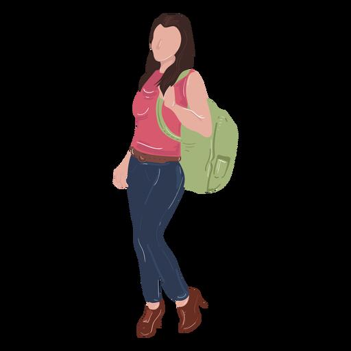 Cute student illustration