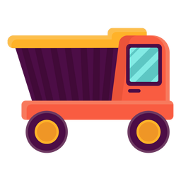Cute truck toy