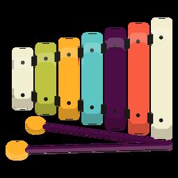 Lindo juguete de xilófono