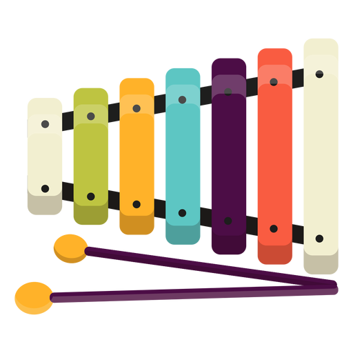 Cute xylophone toy