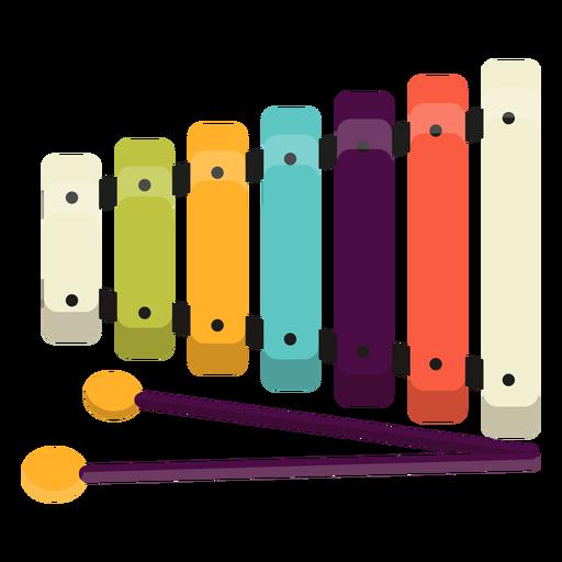 Lindo juguete xilófono