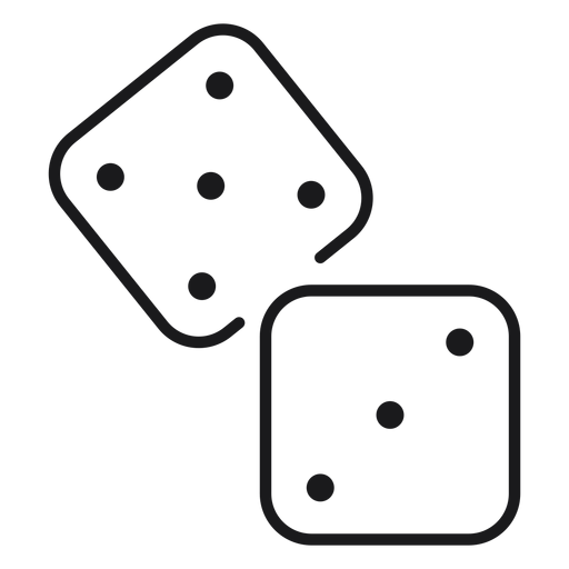 Dice toy icon Transparent PNG