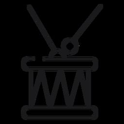 Icono de juguete de tambores