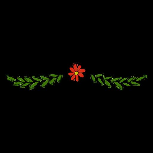 Adorno floral lindo Transparent PNG