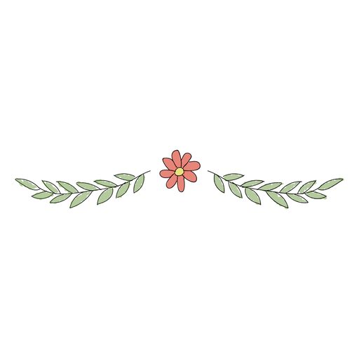 Floral ornament cute Transparent PNG