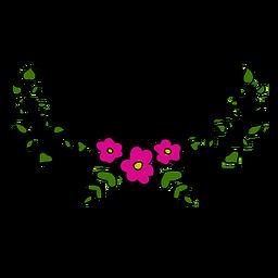 Diseño de adornos florales
