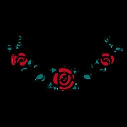Adorno floral simple