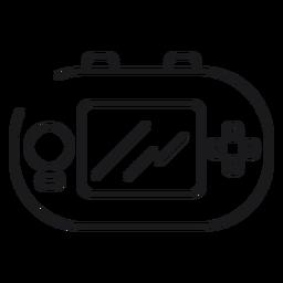 Ícone de brinquedo Game Boy