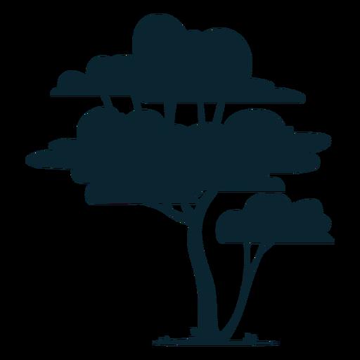 Árbol de safari alto Transparent PNG